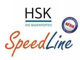 Duschwannen HSK Speedline - 48 Stunden Lieferzeit