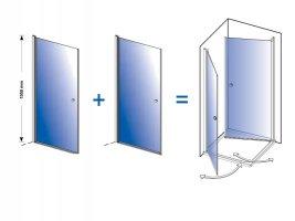 Duschkabinen-Ecklösungen