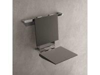 Duscheinhängesitz für Griffsystem, grau/chrom