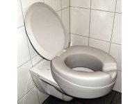 WC-Sitzerhöhung mit Deckel u. weicher...