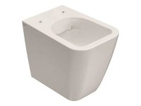 Spülrandloses Stand-WC, 52 x 36 cm, Tiefspüler