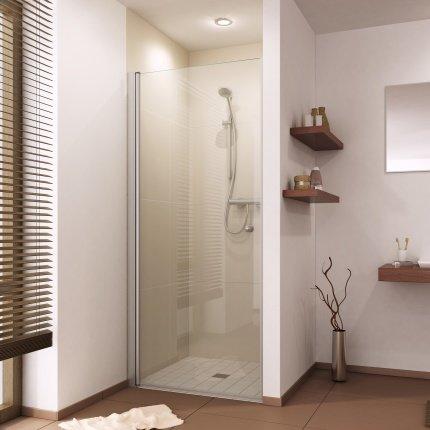 Duschtür für Nische Linksanschlag 75 bis 100 cm