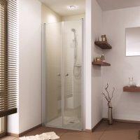 Duschtür für Nische mit Doppelpendeltür 75...