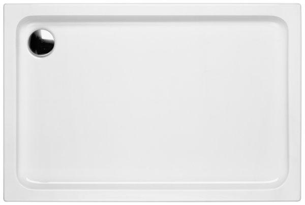 Duschwanne, 120 x 80 x 6,5 cm