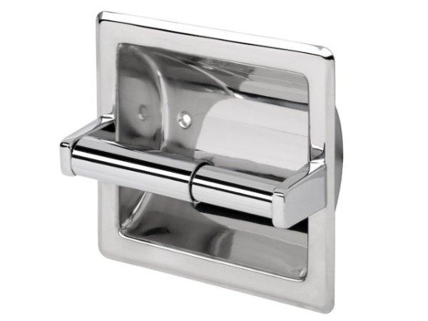 Toilettenpapierhalter ohne Deckel für den Einbau