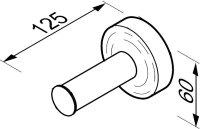 Toilettenpapier-Reservehalter Luna Kollektion