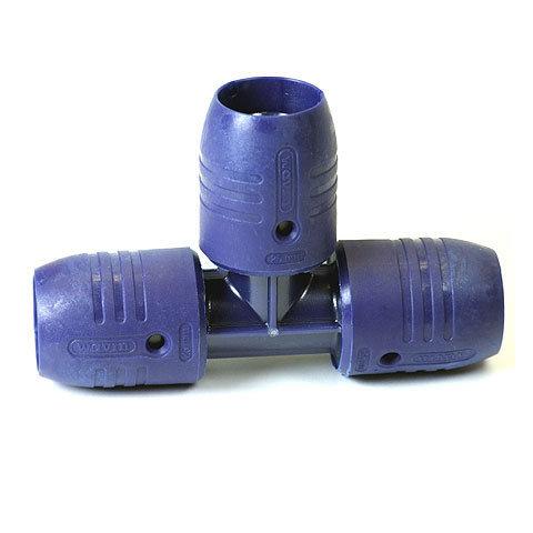 smartFIX T-Stück, 25x25x25 mm