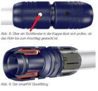 """smartFIX T-Stück, Abgang 16 mm x 1/2"""" x 16 mm IG*"""