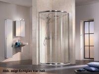 Viertelkreis-Duschkabine Favorit Nova, 90 x 90 x 200 cm, 4-teilig