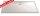 Rechteck Duschwanne super flach, 80 x 100 cm