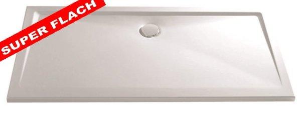 Rechteck Duschwanne aus Marmor-Polymerharz, 80 x 100 cm