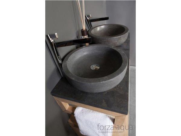 Naturstein Aufsatz-Waschtisch VERONA aus Bluestone