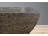 Naturstein Aufsatz-Waschtisch SIRACUSA aus Bluestone