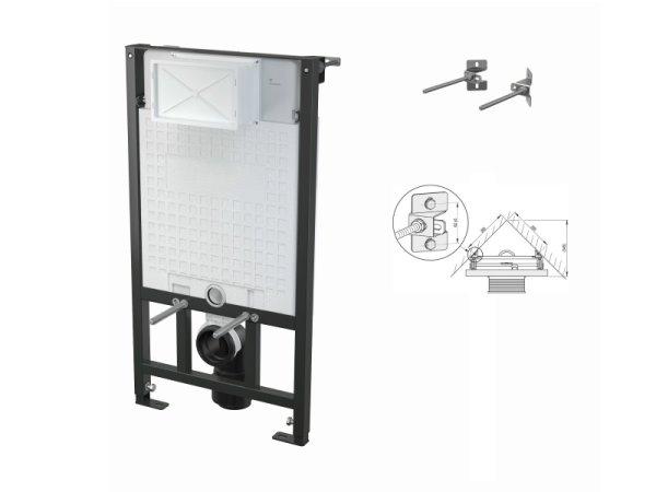 WC-Vorwandelement 1000 mm zur Eckmontage