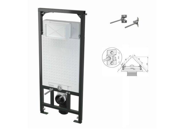 WC-Vorwandelement 1200 mm zur Eckmontage