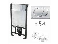 WC-Vorwandelement 1000mm zur Eckmontage mit...