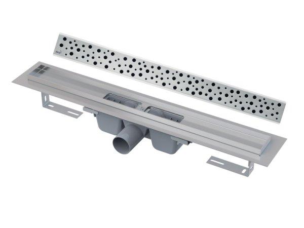 """Edelstahl-Bodenablaufrinne 850mm inkl. Edelstahlrost """"Buble"""""""
