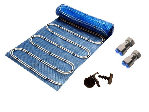 7,5m² Warmwasser Fußbodenheizung AquaDur Plus