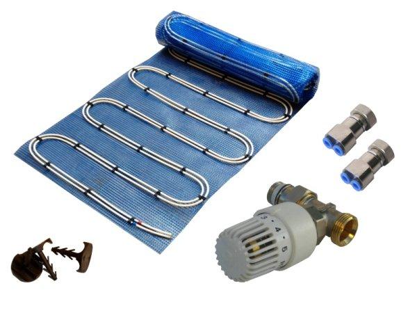 10,0m² Warmwasser Fußbodenheizung AquaDur Plus Paket RTL