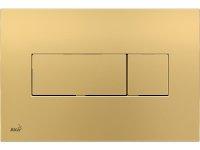 Betätigungsplatte M375 gold