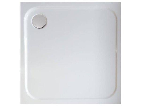 Quadrat - Duschwanne, 90 x 90 x 6,5 cm