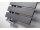 Designheizkörper Yenga, 600 x 1200 mm, manhattan-grau
