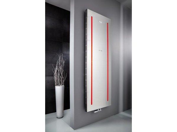 Designheizkörper Atelier LED, 608 x 1806 mm, graphit-schwarz