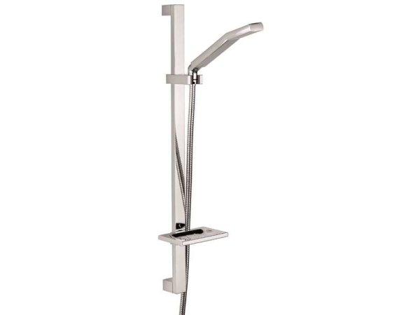 Duschgarnitur, Metall Brausestange 60 cm