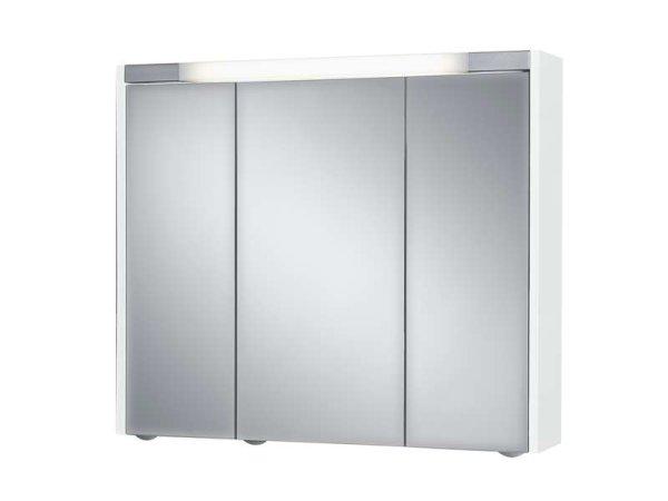 Spiegelschrank Sarto III, 80 x 69 cm, weiß