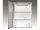 Spiegelschrank Cento LS, 50 x 64 cm, aluoptik