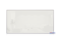 Infrarotheizkörper, 1200 x 600 mm, weiss, Rahmen Alu...