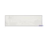 Infrarotheizkörper, 1200 x 350 mm, weiss, Rahmen Alu...