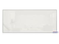 Infrarotheizkörper, 1400 x 600 mm, weiss, Rahmen Alu, 900W