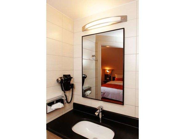 Infrarot-Spiegelheizkörper, 1200 x 350 mm, Rahmen Alu 10mm, 320W