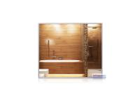 Infrarot-Spiegelheizkörper, 700 x 600 mm, Rahmen Alu...