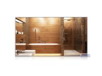 Infrarot-Spiegelheizkörper, 1100 x 600 mm, Rahmen...