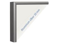 Infrarot-Spiegelheizkörper, 1100 x 600 mm, Rahmen Alu 10mm, 600W