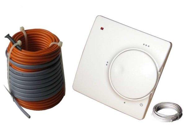 Elektrische Fußbodenheizung HoWaTech Profi 510 - 25m