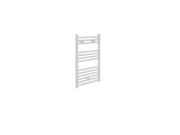 Badheizkörper Bari, 60 cm * 80,3 cm, weiß, gerade, Mittelanschluss