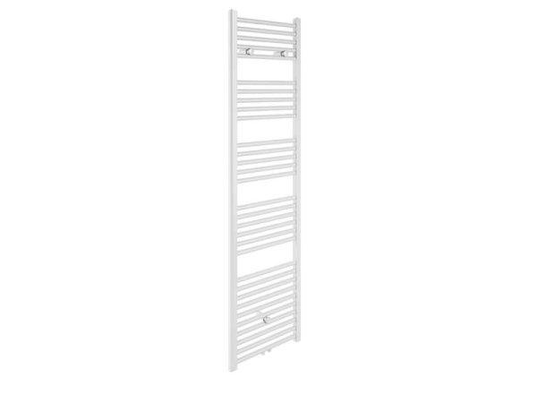 Badheizkörper Bari, 60 cm * 178,5 cm, weiß, gerade, Mittelanschluss