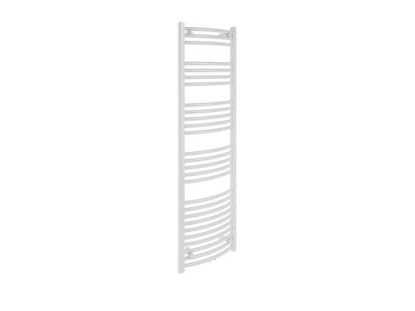 Badheizkörper Bari, 60 cm * 160 cm, weiß, gebogen, Mittelanschluss