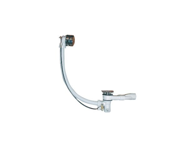 mit Ab- u. Überlaufgarnitur mit Wassereinlauf