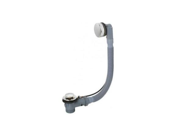 mit Ab- und Überlaufgarnitur (PVC)